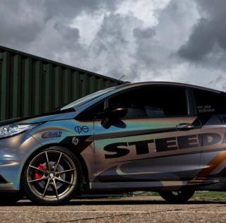 Partner update: Steeda debuts new wrap for Fiesta ST180